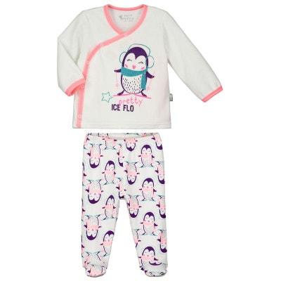 d83dd9acf31e0 Pyjama bébé 2 pièces Pretty Ice PETIT BEGUIN