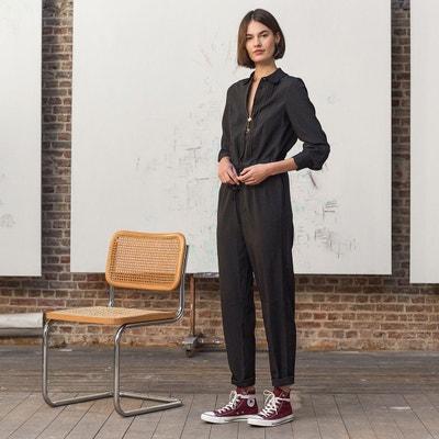 Combinaison pantalon slim manches courtes Combinaison pantalon slim manches  courtes LA REDOUTE COLLECTIONS f29d2fe00ce