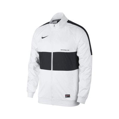 sale retailer ce692 6019f Veste Nike F.C. BlancNoir Veste Nike F.C. BlancNoir NIKE
