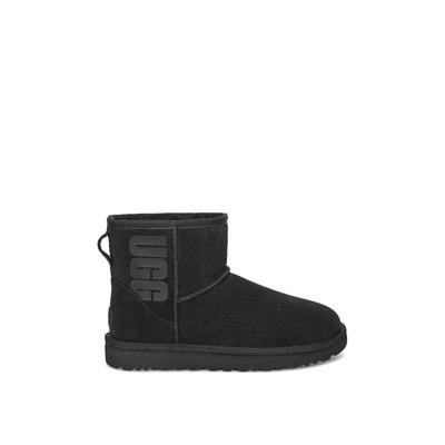 ugg femme australia bailey bow boots black