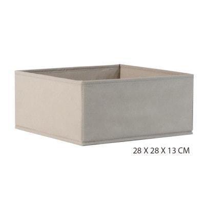 d3ace55cb7d6a4 Rangement pliable panier beige Rangement pliable panier beige NATACHA B