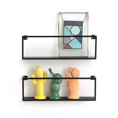 Set van 2 metalen wandplanken L50 cm, Hiba Set van 2 metalen wandplanken L50 cm, Hiba LA REDOUTE INTERIEURS