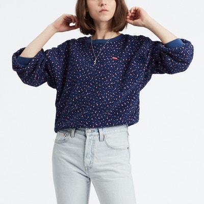 Sweater met ronde hals en luipaardprint Sweater met ronde hals en luipaardprint LEVI'S