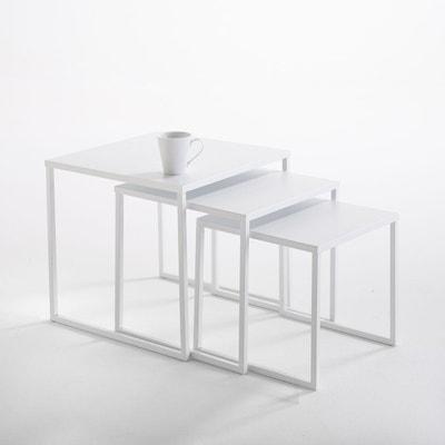 Table Basse Gigogne Blanche.Table Gigogne Blanche La Redoute