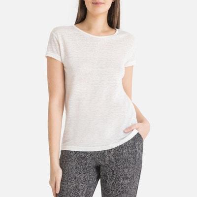 fe84cf24bb2 Tee shirt en lin manches courtes Tee shirt en lin manches courtes IKKS