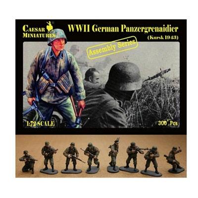 1943 32 Figurines PANZER GRENADIERS ALLEMANDS CAESAR Miniatures 1//72 n° 099