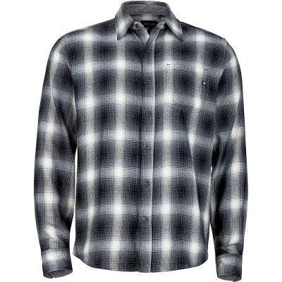 92e6faf992f3 Fairfax - T-shirt manches longues Homme - blanc noir MARMOT