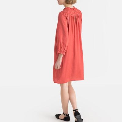 4adf91d06b4 Wijd uitlopende jurk, lange mouwen LA REDOUTE COLLECTIONS