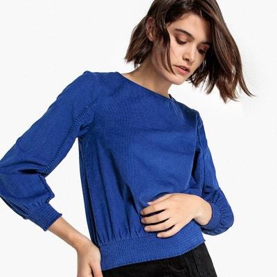 83fc67663c4f Top bleu electrique femme