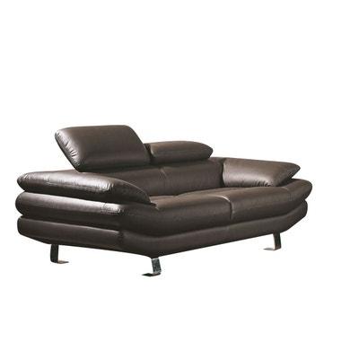 1d3c2e8721a05 Canape cuir 2 places | La Redoute
