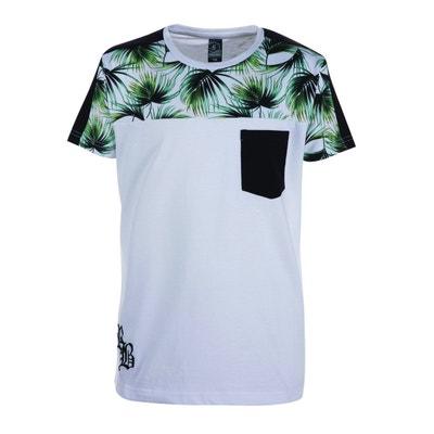 cffeec2114dbf T-shirt à manches courtes imprimé tropical RIVALDI