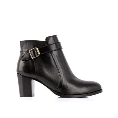 f61d611bb58660 Boots cuir Postiche Boots cuir Postiche MELLOW YELLOW