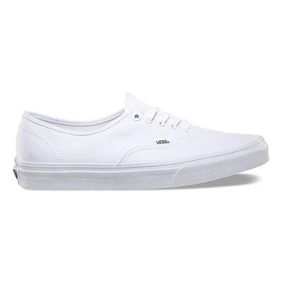 vans blanche soldes