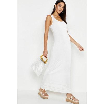 meilleur service d6f39 1fec7 Robe blanche longue femme | La Redoute