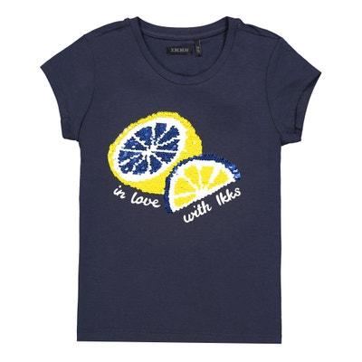 d0932e4a0 Reversible Sequin T-Shirt, 4-14 Years IKKS JUNIOR