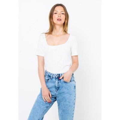 0af95e911a29e Tee shirt manche courte femme en solde CAMAIEU | La Redoute