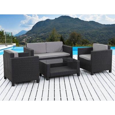 Salon de jardin - Table, chaises Habitat et jardin   La Redoute