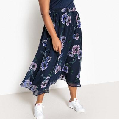 4aa08f3ec9f Floral Print Midi Skirt CASTALUNA PLUS SIZE