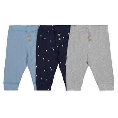Confezione da 3 jogpant in jersey di cotone 1 mese - 3 anni Confezione da 3 955c6a69834