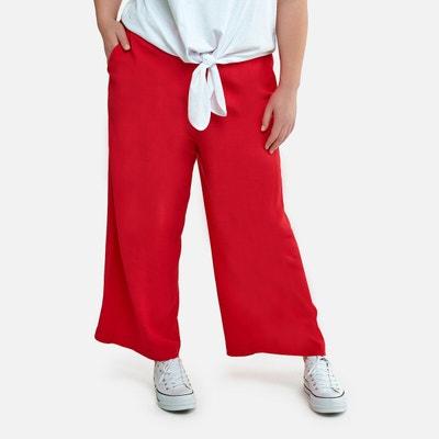 Pantalones Rectos De Mujer La Redoute