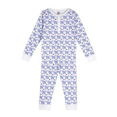 967e63fbdffea Pyjama en coton bio - Imprimé Tigre Pyjama en coton bio - Imprimé Tigre BRAI