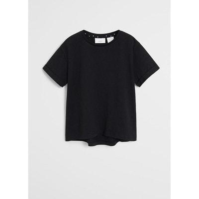 Tee shirt noir fille | La Redoute