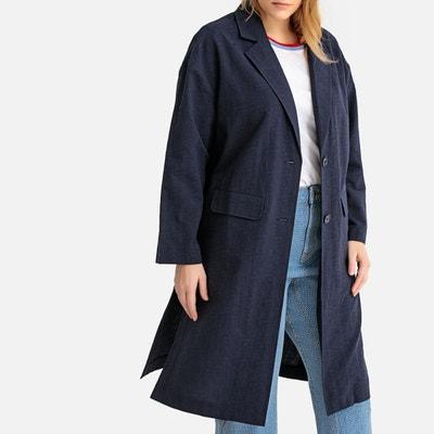4e78c36266251 Veste blazer longue, coupe ample CASTALUNA
