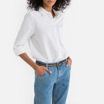 sélectionner pour le meilleur plus grand choix Design moderne Chemisier coton blanc femme | La Redoute