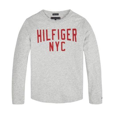 b4a12e705f8c39 Long-Sleeved T-Shirt, 12-16 Years TOMMY HILFIGER