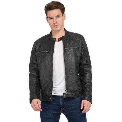 Blouson, veste en cuir homme Kaporal en solde   La Redoute ce1512e218fb