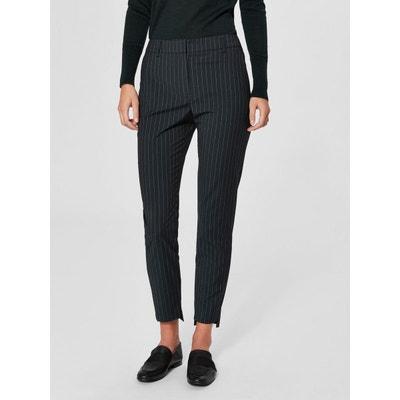 e66454c604 Pantalon Rayures fines - SELECTED FEMME