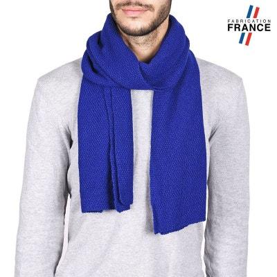 e91499b102c7 Echarpe Homme SOLAS Bleue - Fabriqué en France QUALICOQ