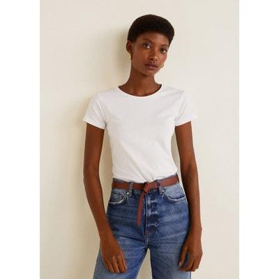 1d7de97fea85 T-shirt basique en coton T-shirt basique en coton MANGO