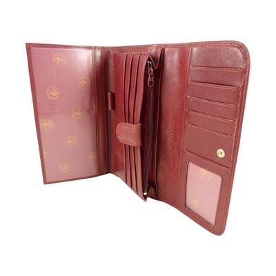 Compagnon, tout en un, porte chéquier portefeuille monnaie 12 CB cuir de  vachette Compagnon. ELEPHANT D OR d9e13510bd4