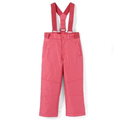 f204567d46ee Pantalon de ski à bretelles fille 3-16 ans Pantalon de ski à bretelles fille
