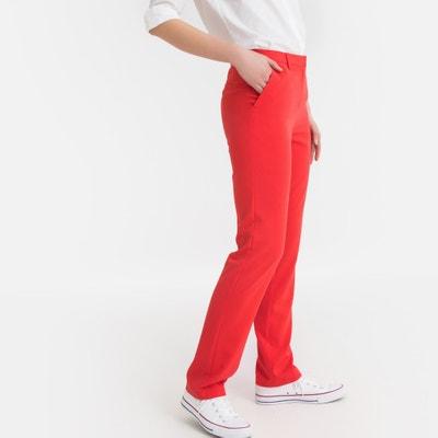 Pantalones Rojos Mujer La Redoute