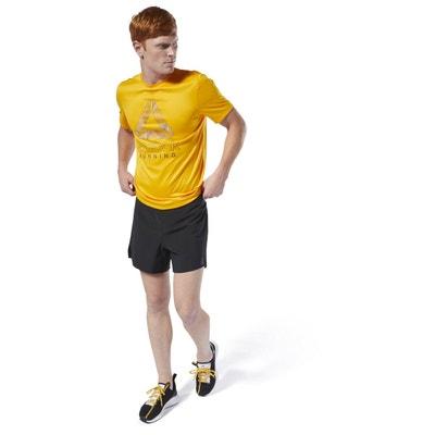 best cheap 52364 96c38 T-shirt à motif Run Essentials T-shirt à motif Run Essentials REEBOK SPORT