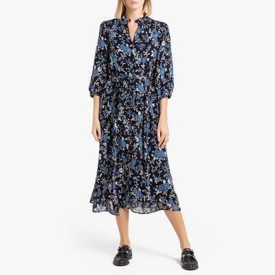pas cher pour réduction 92ac6 ebdd5 Robe à fleur manche longue | La Redoute