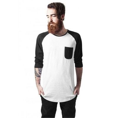 51561475f40 T-shirt raglan long avec poche URBAN CLASSICS