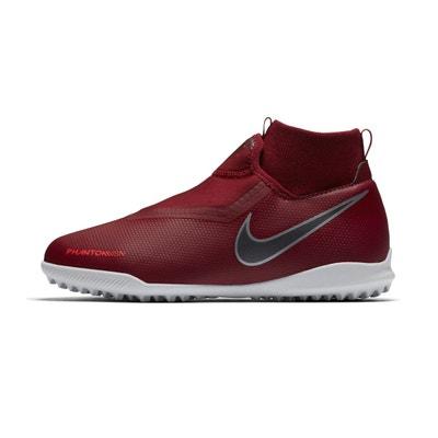 wholesale dealer 6dc69 d5940 Chaussures football Nike PhantomX Vision Academy DF TF RougeGris Junior  Chaussures football Nike PhantomX