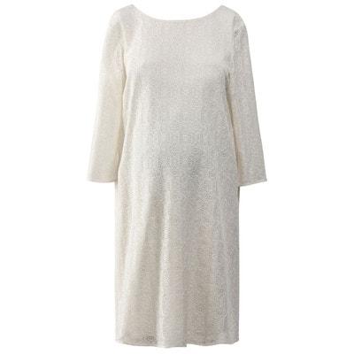 ffdb6476c1f Robe de grossesse en dentelle Robe de grossesse en dentelle LA REDOUTE  MATERNITÉ