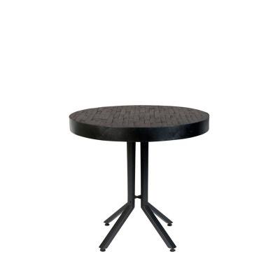 table ronde noire la redoute. Black Bedroom Furniture Sets. Home Design Ideas