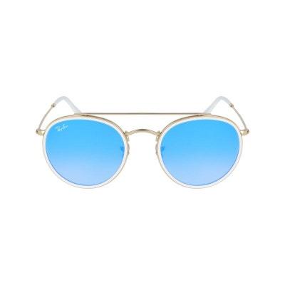 bfdc65d804806 Lunettes de soleil mixte RAY BAN Bleu RB 3647N 001 40 51 22 Lunettes. «