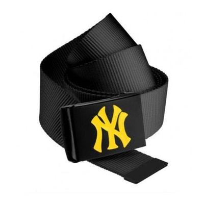 Ceinture NEW YORK Yankees MLB Noir NY Jaune Fluo MASTERDIS Belt MASTERDIS 8af11153f96