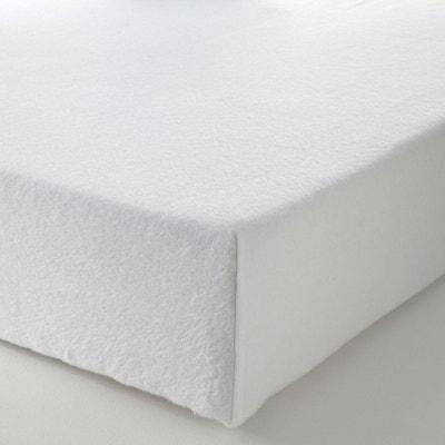 drap lin blanc la redoute. Black Bedroom Furniture Sets. Home Design Ideas