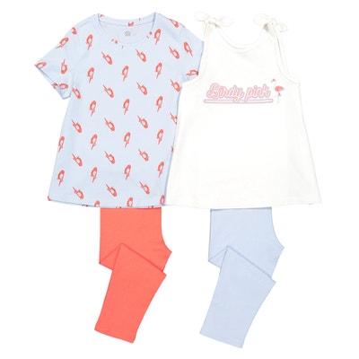 eb44f9797a3e1 Lot de 2 pyjamas corsaire 3-12 ans Lot de 2 pyjamas corsaire 3-