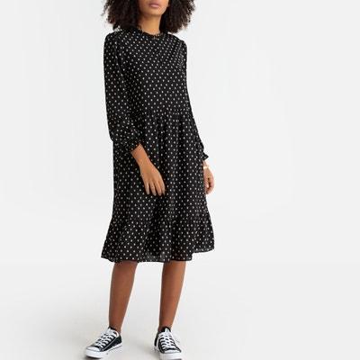 d85846209074 Gathered Polka Dot Dress Gathered Polka Dot Dress LA REDOUTE COLLECTIONS