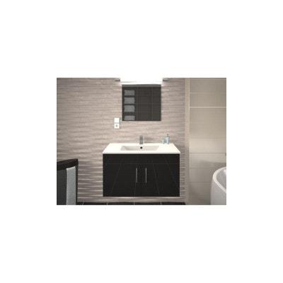 Meuble salle de bain bois gris | La Redoute