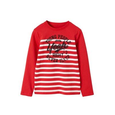 bde0050175cb0 T-shirt marinière garçon T-shirt marinière garçon VERTBAUDET