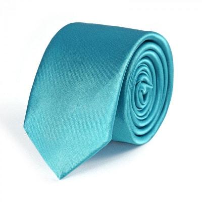 776497d4bb313 Cravate Slim Turquoise DandyTouch - Fabriqué en europe Cravate Slim  Turquoise DandyTouch - Fabriqué en europe